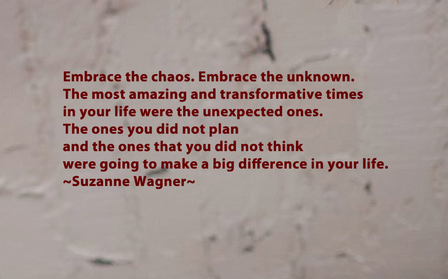 Suzanne Wagner Quotes Embrace The Unknown Suzanne Wagner