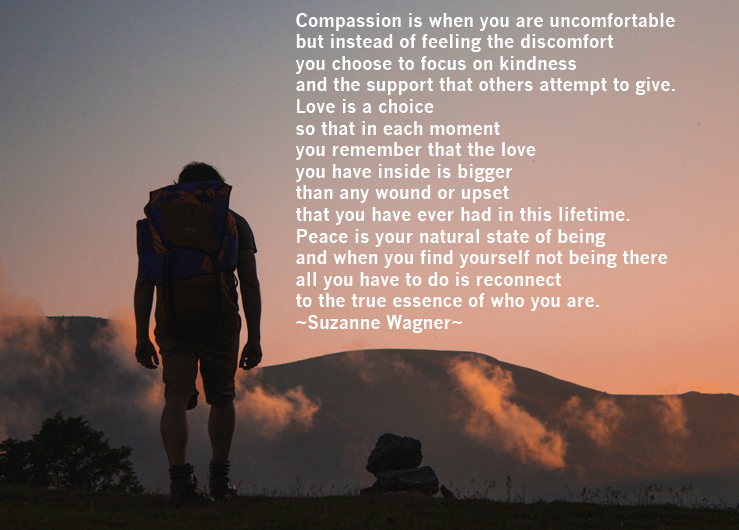 Thehikecompassionisquote