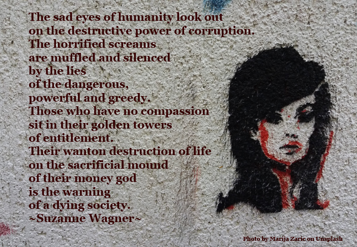 Suzanne Wagner Quotes The Sad Eyes Of Destruction Suzanne Wagner