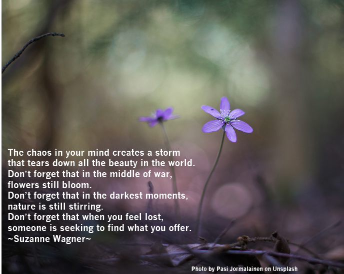 purpleflowerinforestquote