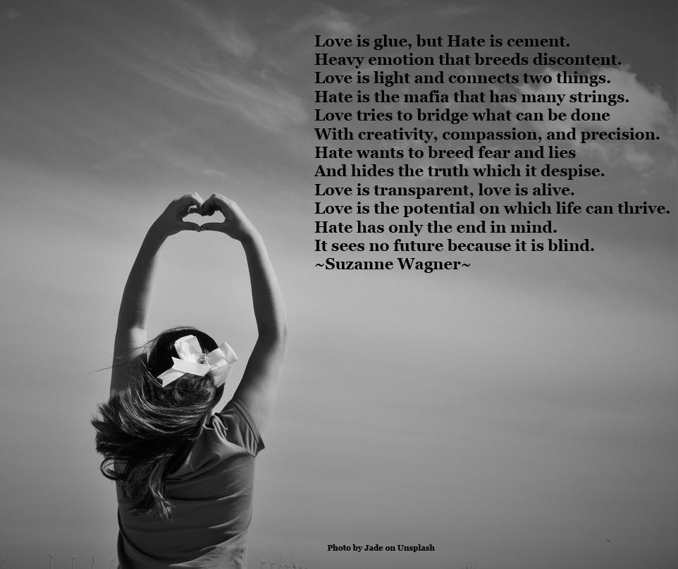 womanmakingheartshapequote