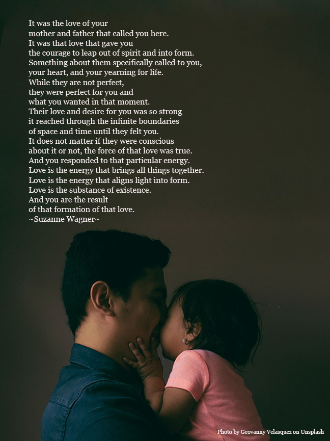 man and child snugglingquote