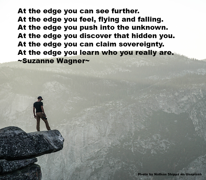 Suzanne Wagner Quote At The Edge Suzanne Wagner