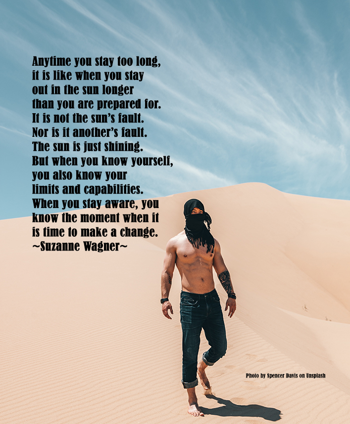 manwalkinginthedesertquote