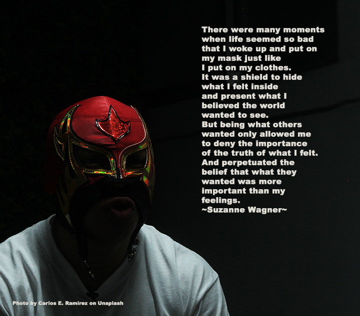 red wrestling maskquote